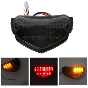 Integrated LED Smoke Tail light Turn Signals For SUZUKI