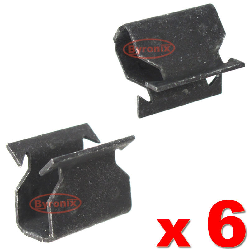 FORD C MAX COWL SCUTTLE PANEL TRIM CLIPS METAL CLAMP EBay