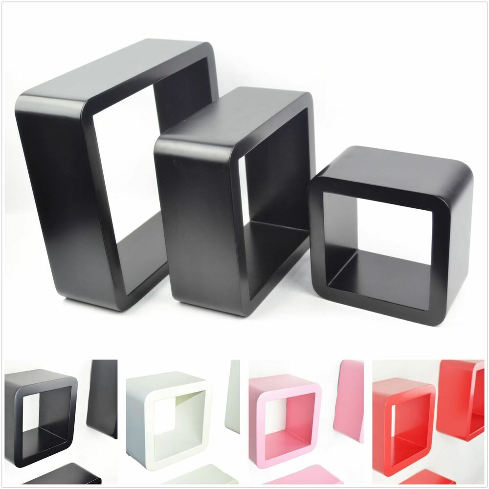 9 Cube Storage Unit Black