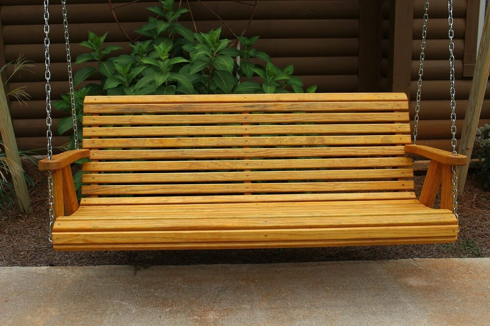 Home Garden ROLL BACK Amish Heavy Duty 700 Lb 4ft. Porch