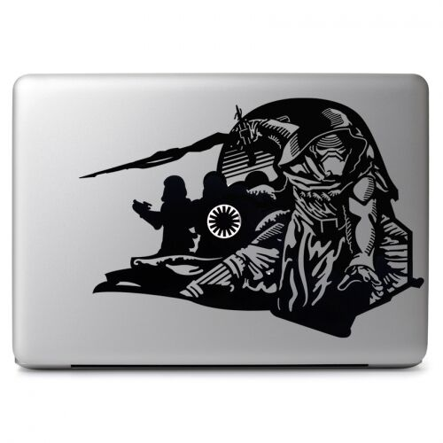 Macbook Wars Stickers Star Pro