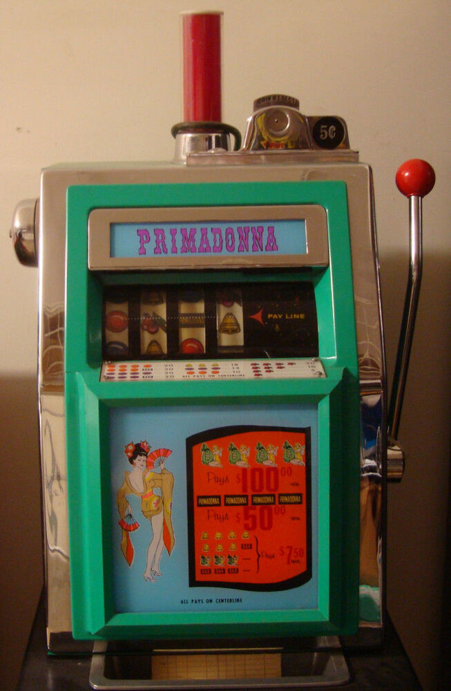 Vintage Nickel Slot Machines
