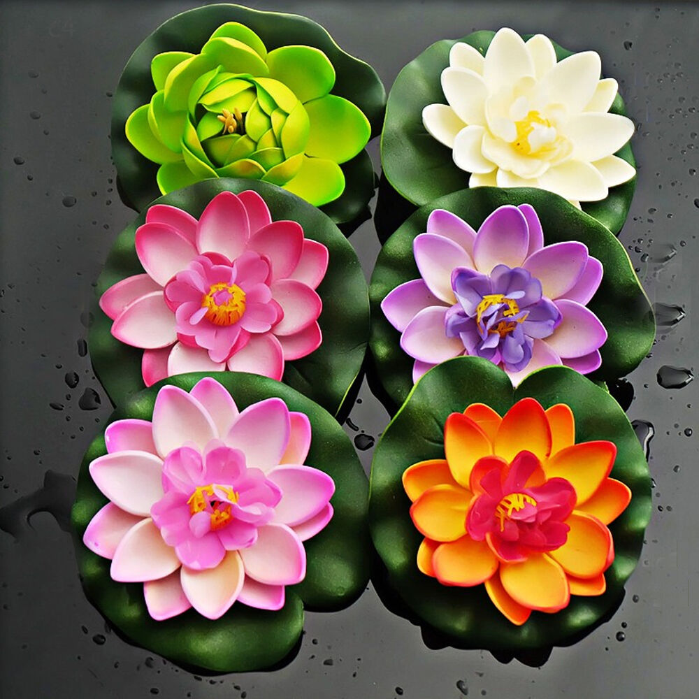 Artificial Water Lilies Ponds