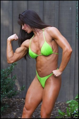 Female Bodybuilder Michele Bellini Rm 114 Dvd Ebay