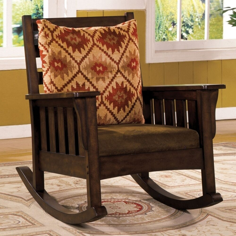 title | Mission Style Rocking Chair