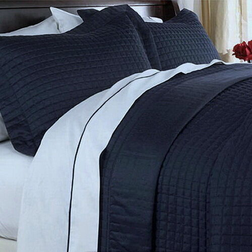 Navy Blue Quilt King
