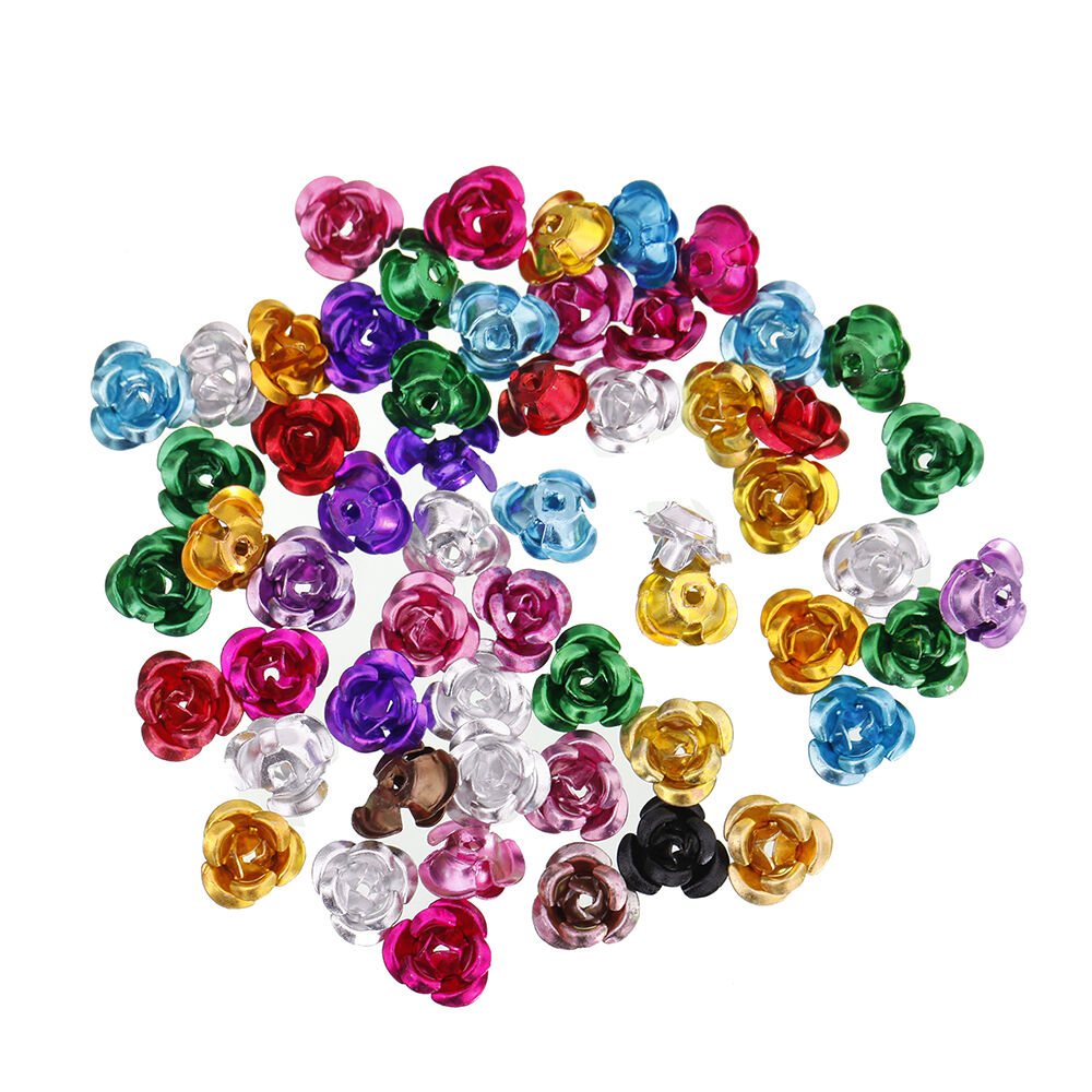 Flower Beads Jewelry Making