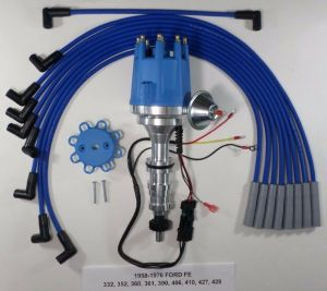 FORD FE 352360390427428 BLUE Small Cap HEI Distributor