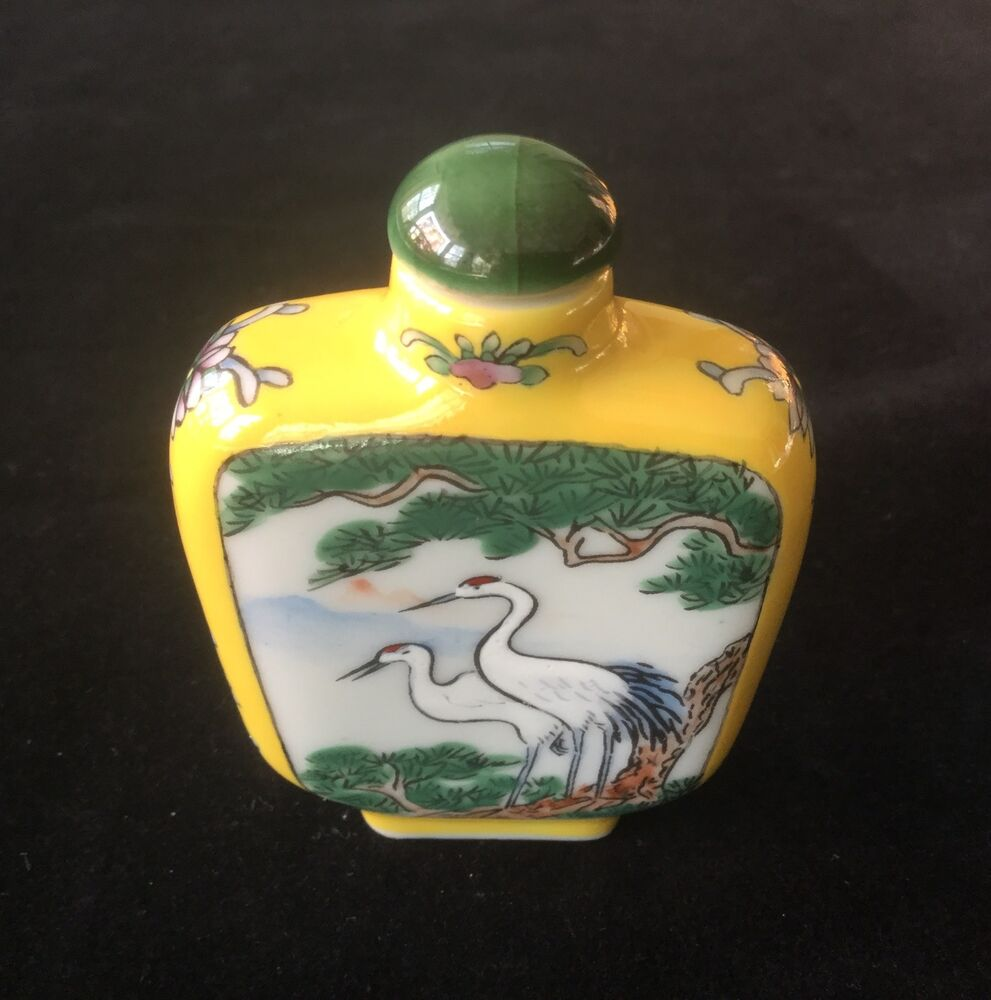 Hand Painted China Cranes
