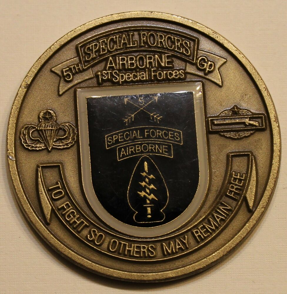 Commander 5th Special Forces Group
