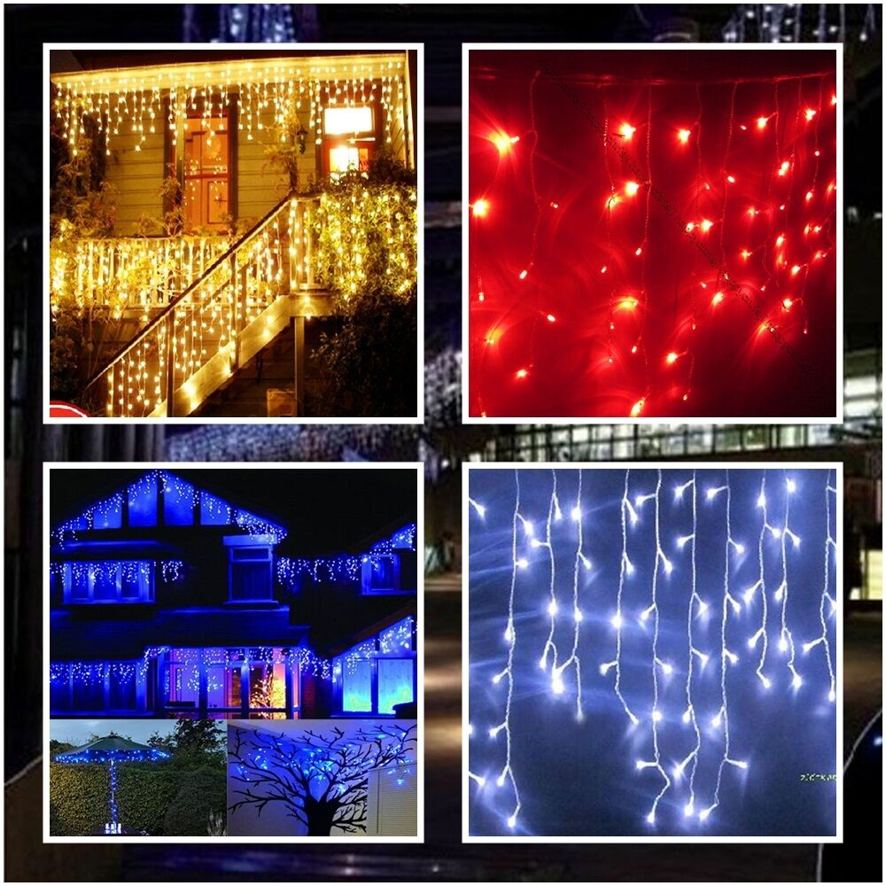 Red White And Blue Led Christmas Lights