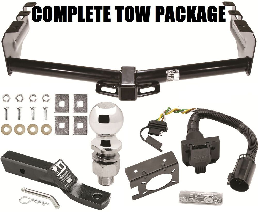 1999-2013 CHEVY SILVERADO 1500 TRAILER HITCH + WIRING 4WAY