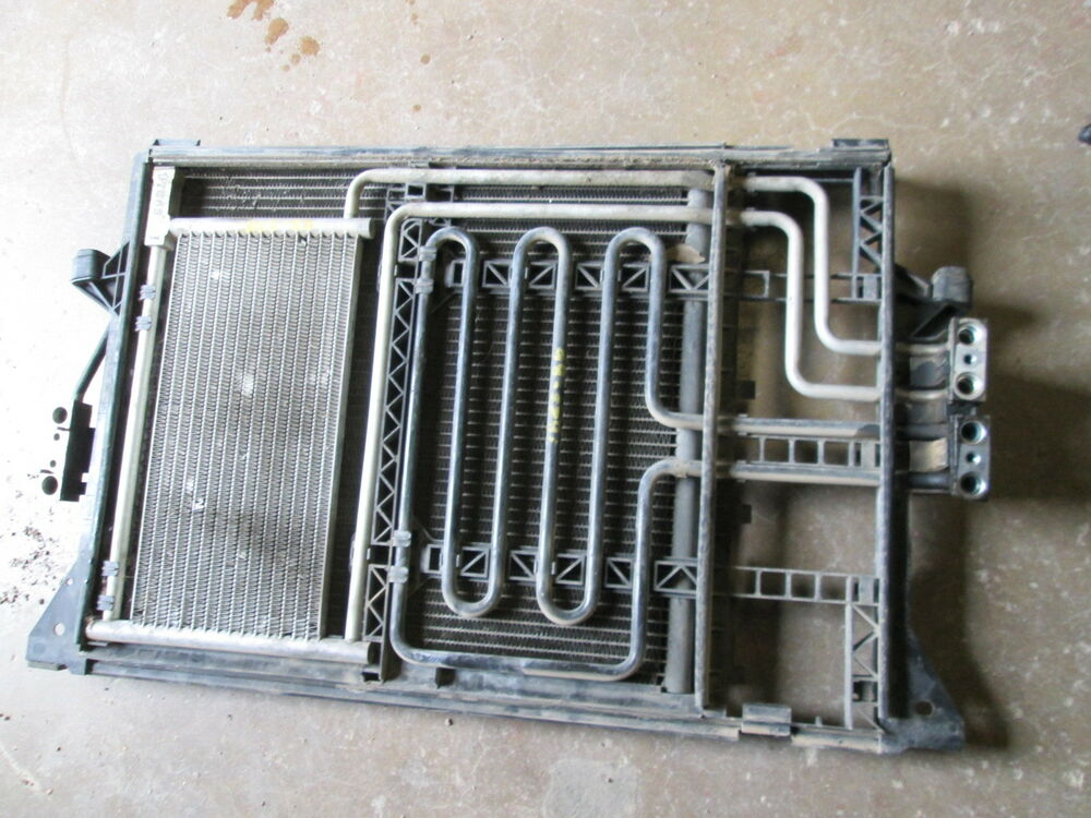 Bmw E39 Condenser Oil Cooler 528i 1997 1998 1999 Ebay