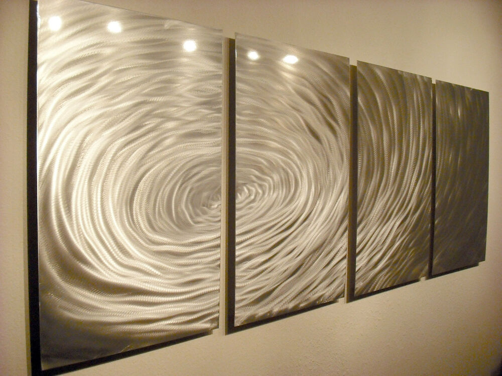 Abstract Metal Wall Art- Contemporary Modern Decor