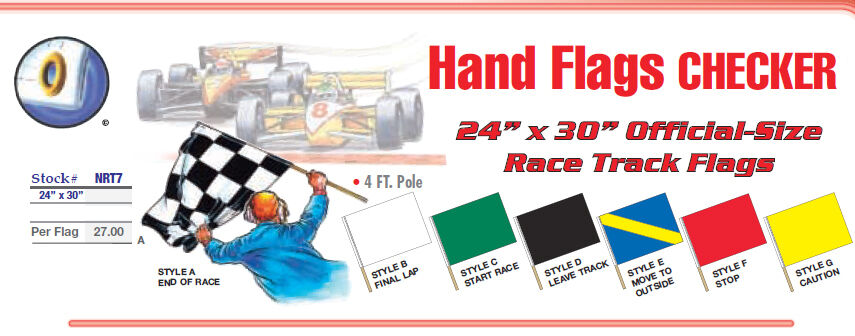 Checkered Race Flag Color Page