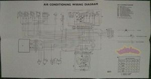 JAGUAR XJ6 AIR CONDITIONING ELECTRICAL WIRING DIAGRAM SHOP
