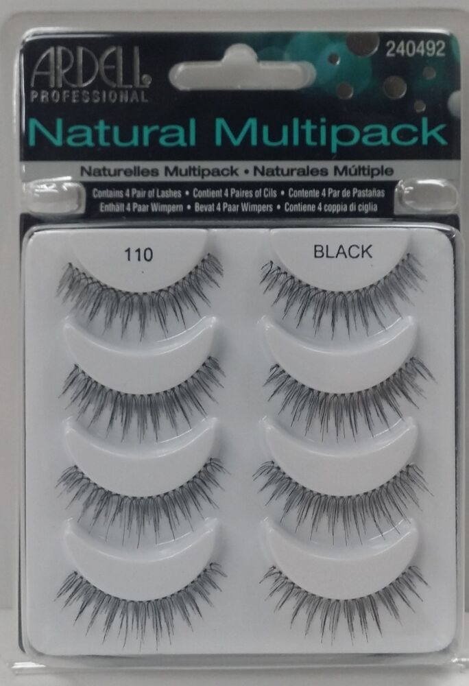Ardell 110 NATURAL MULTI PACK 4 Pairs False Eyelashes Fake Lashes EBay