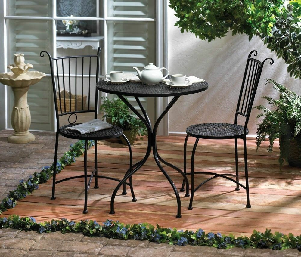 Small Outside Table And Chair Set