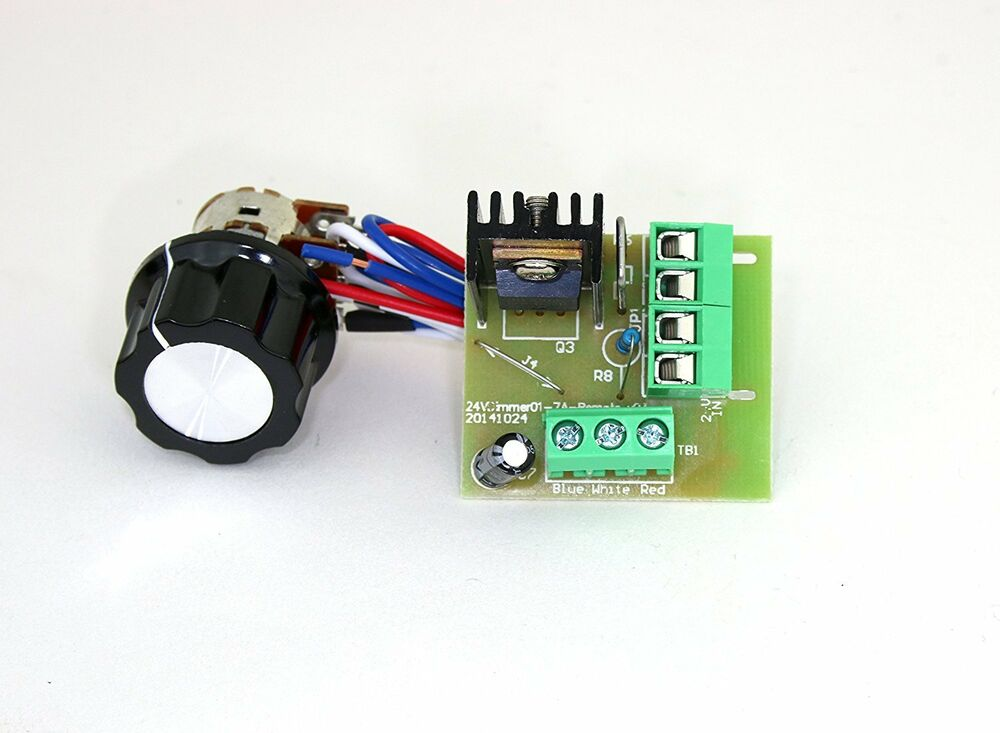 Led Dimmer Pwm Dc Lighting Dimmer Controller 24 Vdc With