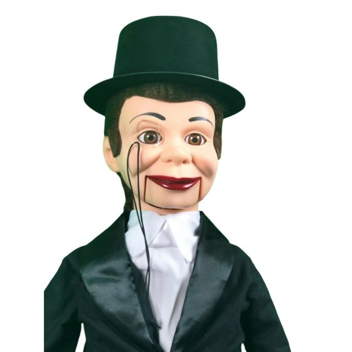Charlie McCarthy Deluxe Upgrade Ventriloquist Dummy Doll ...
