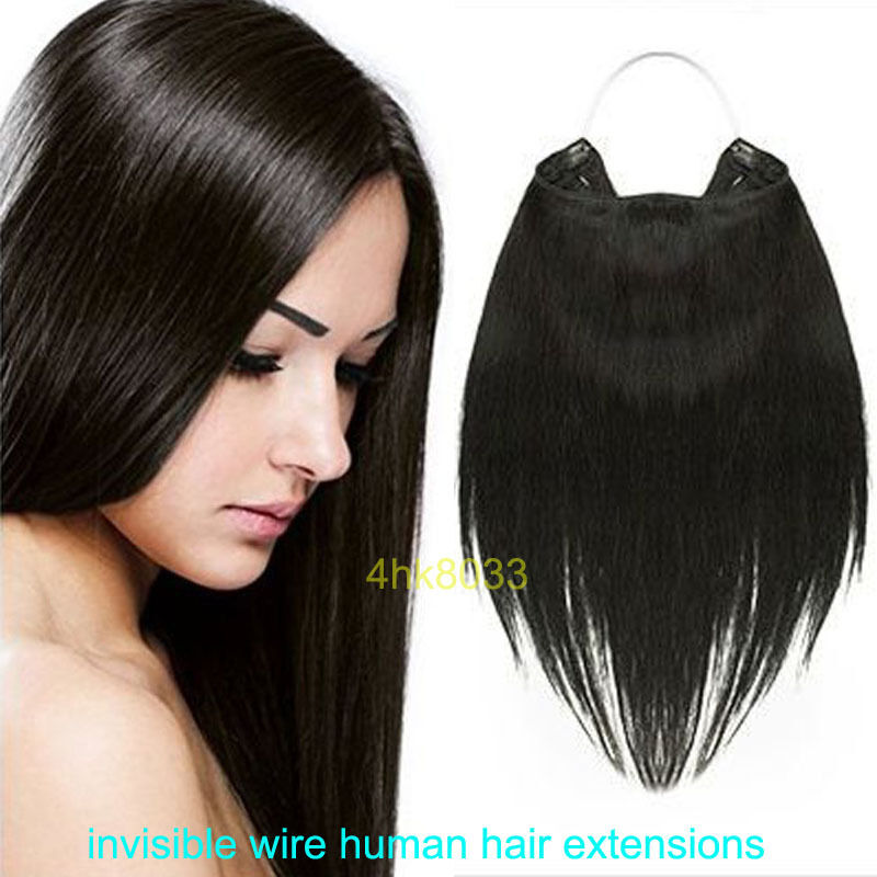 Headband Weft Invisible Wire 100 HUMAN HAIR EXTENSIONS
