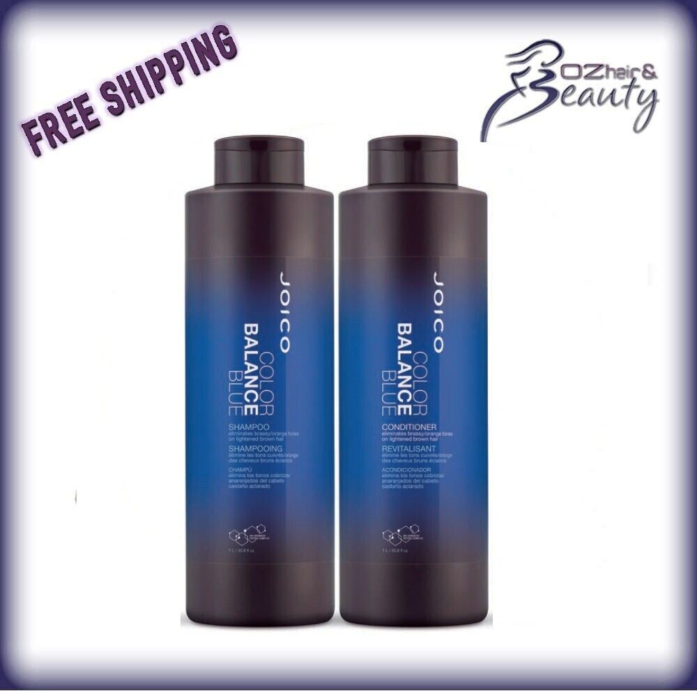 Conditioners And Shampoos Blue