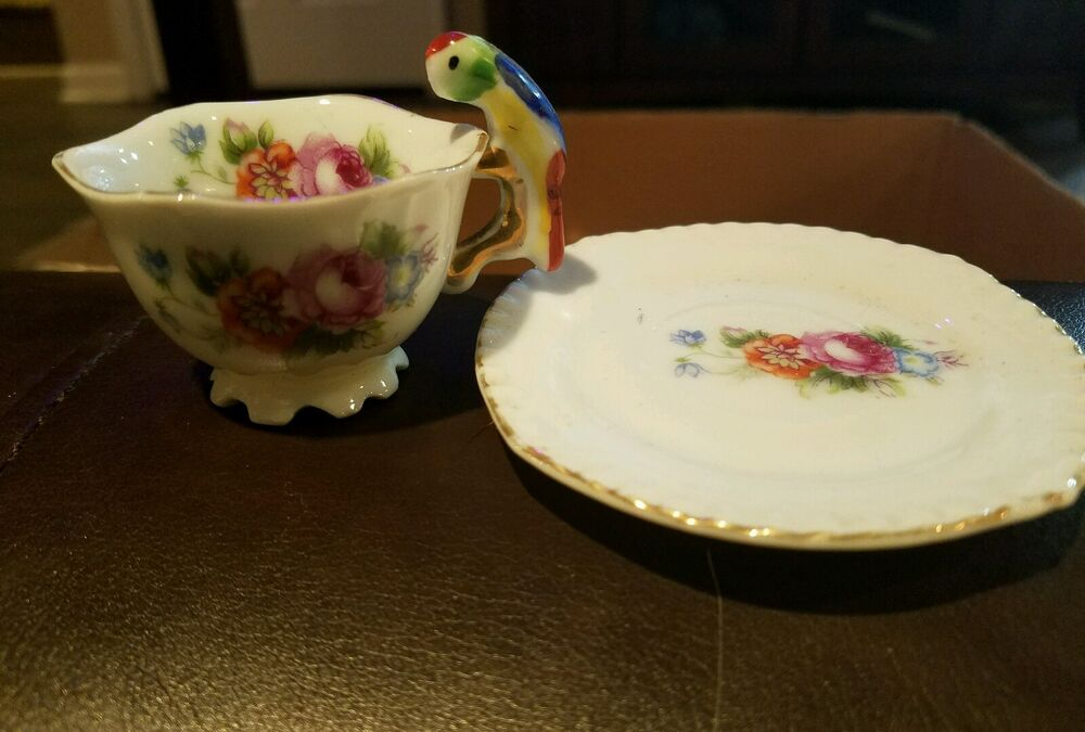 Saucer Trademarks Made Miniature And Teacup Japan