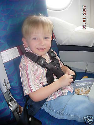 Rent A Cares Kids Fly Safe Airplane Harness Seatbelt