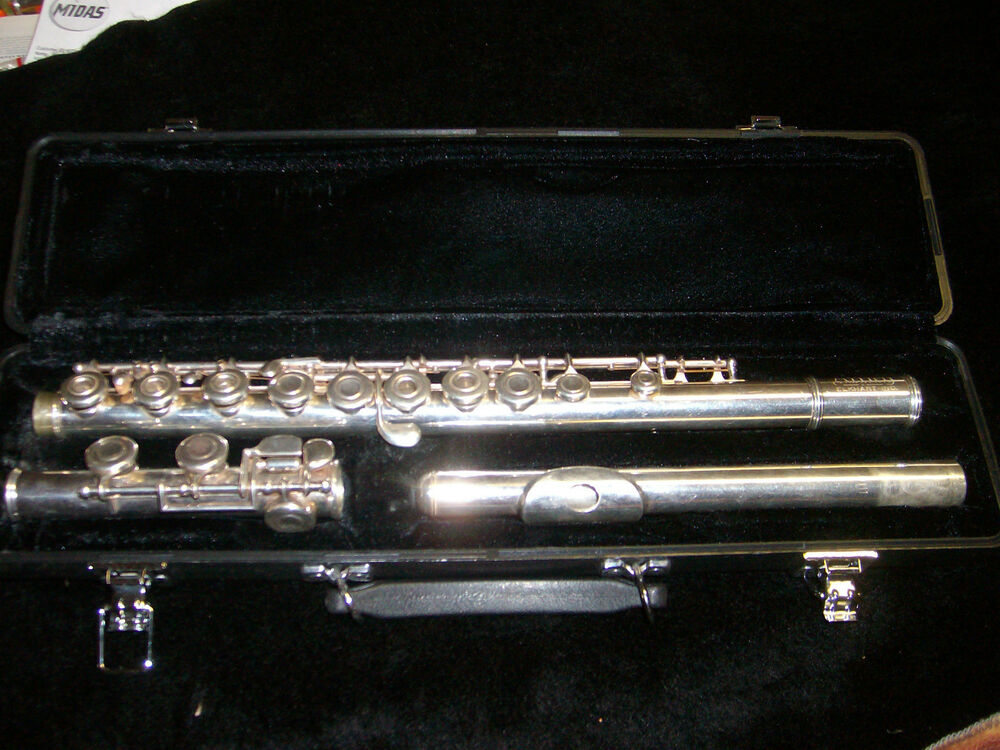 Head Bundy Silver Flutes