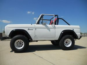 6 point Full Roll Cage Roll Bar Kit 6677 Bronco