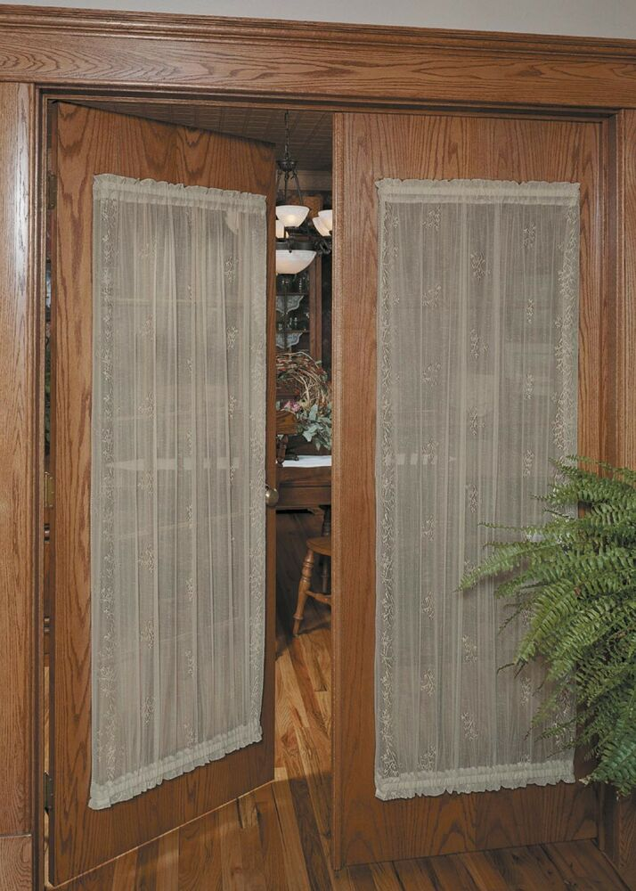 Heritage Lace SHEER DIVINE Door Panels Available In 4 Sizes 3 Colors NEW EBay