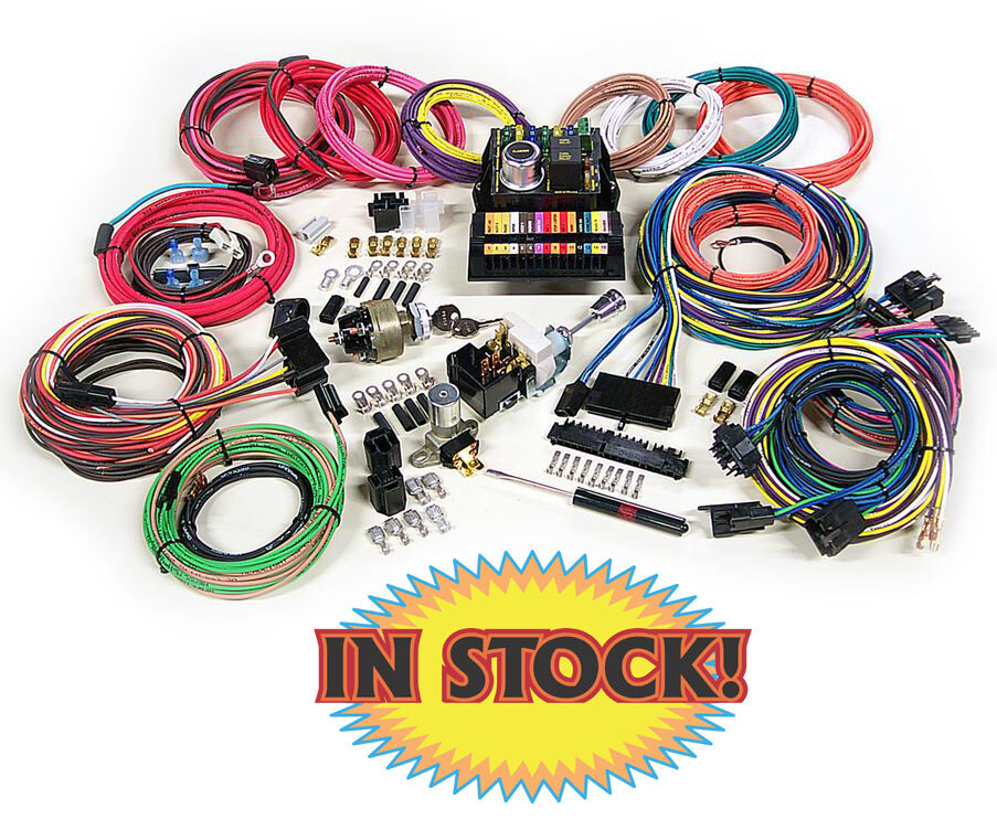 American Autowire Highway 15 Complete Wiring Harness Kit
