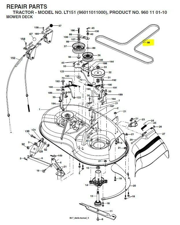 Manual Husqvarna 54 Mower Deck Diagram Everything You Need To Know