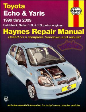TOYOTA ECHO YARIS SHOP MANUAL SERVICE REPAIR BOOK HAYNES