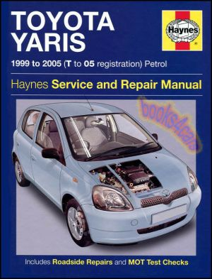 TOYOTA ECHO SHOP MANUAL SERVICE REPAIR BOOK HAYNES 2000