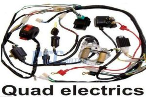 50 70 90 110CC ATV WIRE HARNESS WIRING CDI ASSEMBLY QUAD