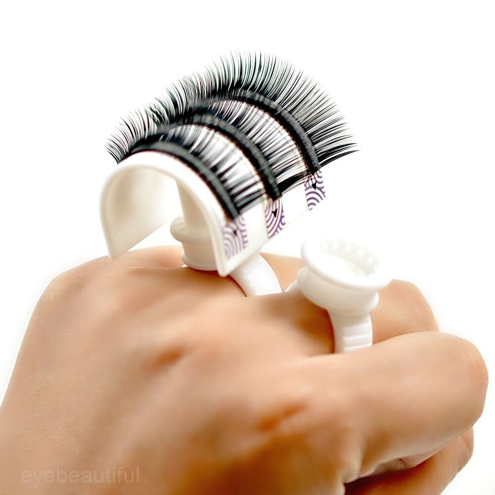 Lash Strip Pallet Ring Perfect For 3D Volume Fans Lashes Eyelash Extension EBay