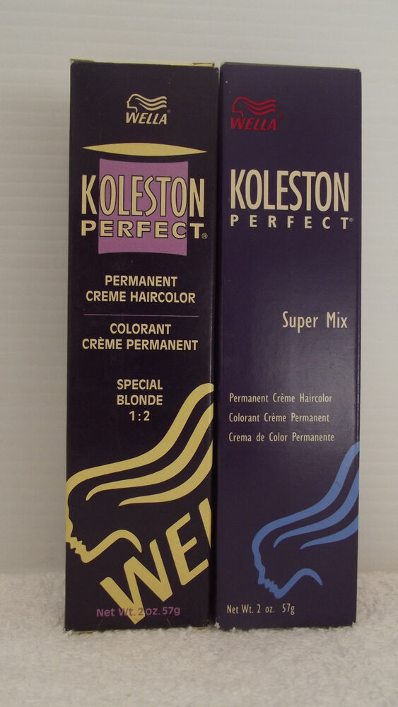 ORIGINAL Wella Koleston Perfect SPECIAL BLONDE SUPER MIX