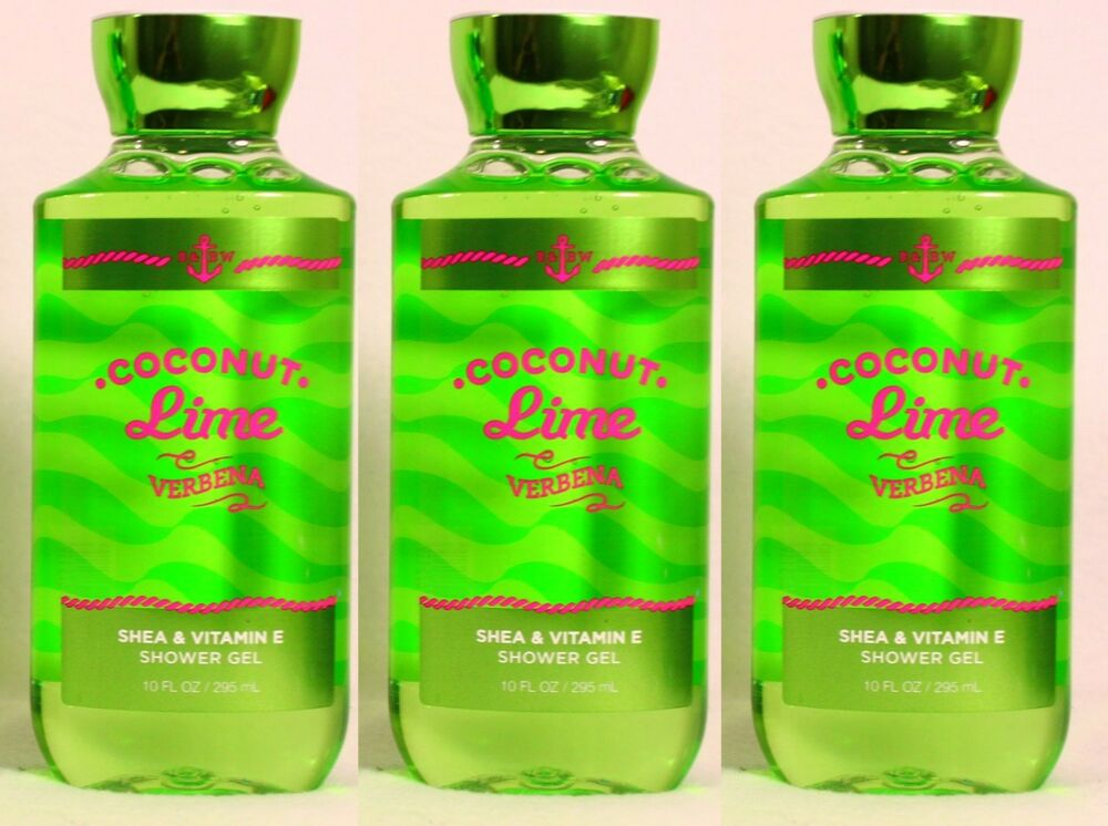 Coconut Lime Verbena Bath And Body Works