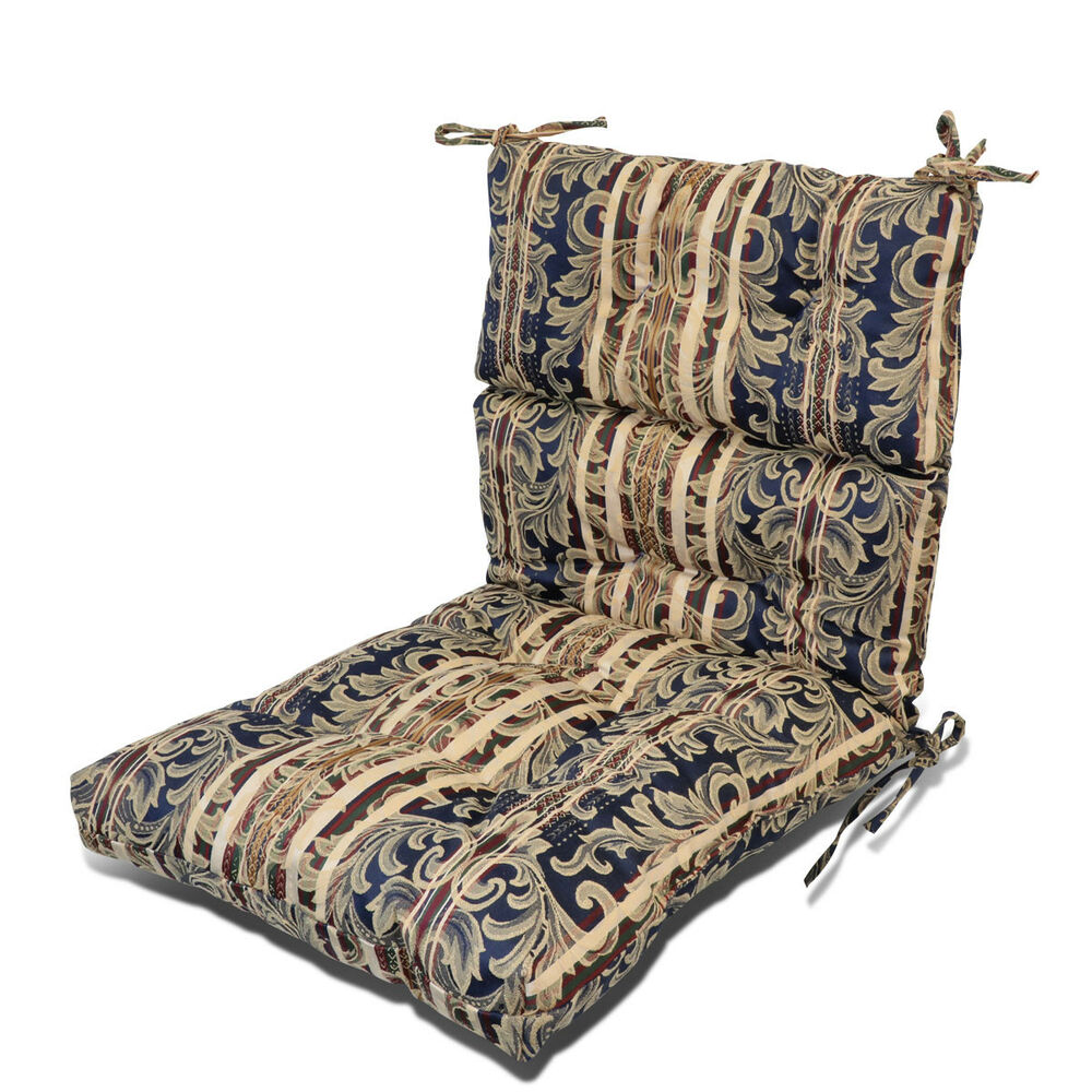 3 Thickness Patio Garden Dining SeatBack Chair Cushion Seat Pad Pillow Floral 29741910768 EBay