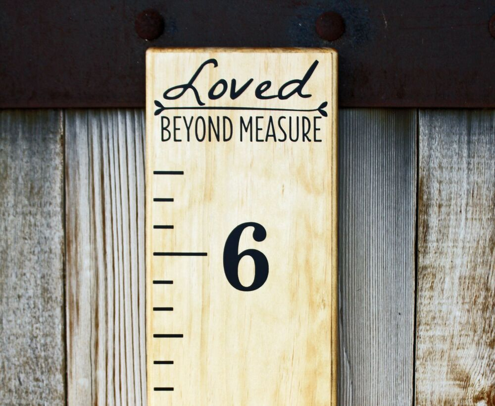 Download DIY Vinyl Growth Chart Ruler Decal Kit - Large # style ...