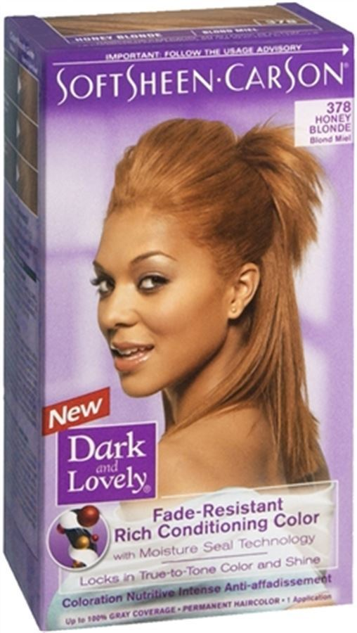 Dark And Lovely Fade Resistant Rich Color No 378 Honey