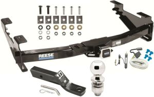 COMPLETE TRAILER HITCH PKG W WIRING KIT FOR 200107 CHEVY
