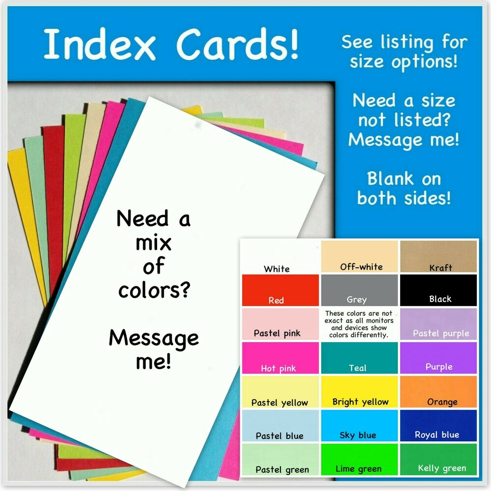 Cards Note 5 X 7