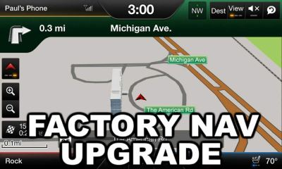 My Ford Touch Navigation Upgrade Kit - Plug n' Play OEM ...