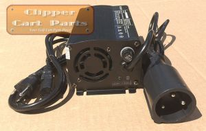 NEW Club Car 48 Volt Golf Cart Battery Charger Style (5 amp) W Powerdrive Plug | eBay