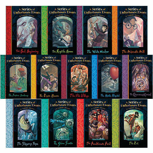 Lemony Snicket A Series Of Unfortunate Events 13 Books Set Pack Best EBay