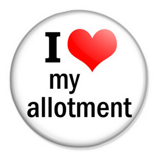 I Love My Allotment 25mm 1 Pin Badge Button Gardening EBay