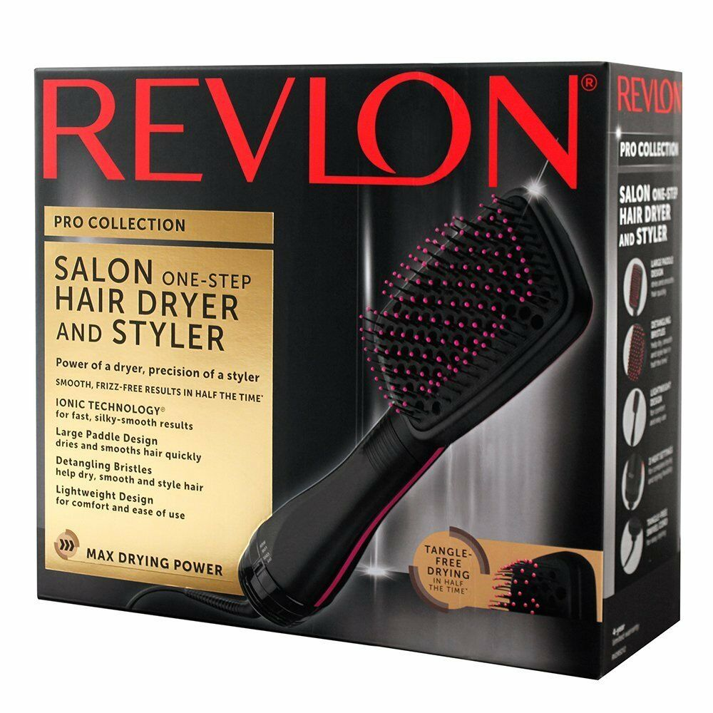 NEW Revlon PRO COLLECTION One Step HAIR DRYER Amp STYLER
