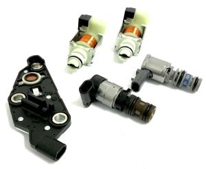 4T65E Transmission New 5 Piece Solenoid Set 2003 and Up
